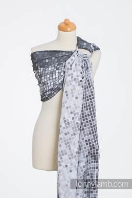 Ringsling, Jacquard Weave (100% cotton) - MOSAIC - MONOCHROME