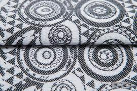 PLAYGROUND CLASSIC, ćwiartka tkaniny, splot żakardowy, rozmiar 50cm x 70cm