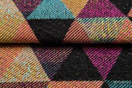TRIANGLES BOHO, fabric quarters, jacquard, size 50cm x 70cm