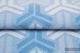 TRINITY BABY BLUE, fabric quarters, jacquard, size 50cm x 70cm