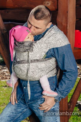 WRAP-TAI carrier Toddler with hood/ jacquard twill / 100% cotton / PANORAMA