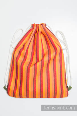Sackpack made of wrap fabric (100% cotton) - SURYA DIAMOND - standard size 32cmx43cm