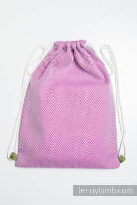 Plecak/worek - 100% bawełna - MAŁA JODEŁKA PURPUROWA - uniwersalny rozmiar 32cmx43cm