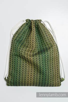 Sackpack made of wrap fabric (100% cotton) - LITTLE LOVE - LEMON TREE - standard size 32cmx43cm
