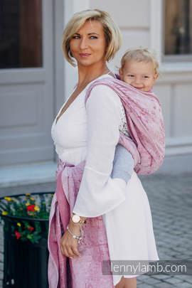 Baby Wrap, Jacquard Weave (60% cotton, 40% linen) - ENCHANTED SYMPHONY - size S