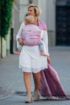 Baby Wrap, Jacquard Weave (60% cotton, 40% linen) - ENCHANTED SYMPHONY - size M