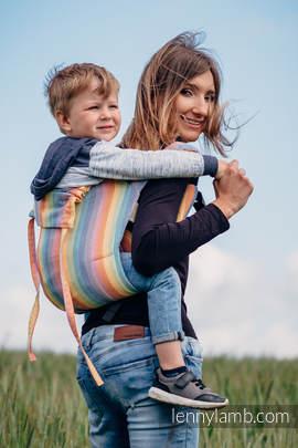 Lenny Buckle Onbuhimo Tragehilfe, Größe Toddler, Kreuzköper-Bindung (100% Baumwolle) - LUNA