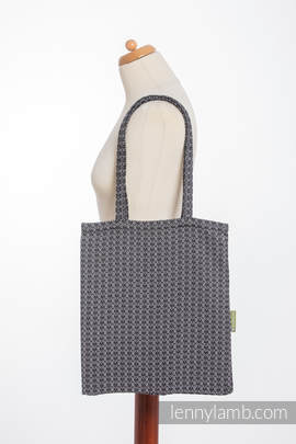 Shopping bag made of wrap fabric (100% cotton) - LITTLE LOVE - HARMONY