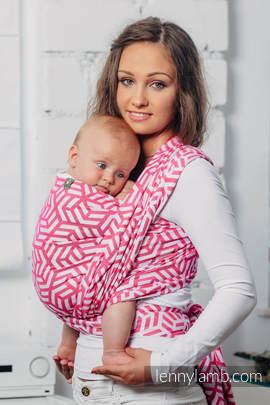 Basic Line Baby Sling - TOURMALINE, Jacquard Weave, 100% cotton, size L