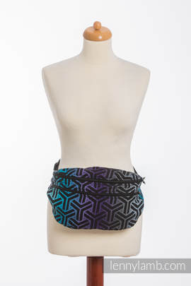 Waist Bag made of woven fabric, size large (100% cotton) - TRINITY COSMOS