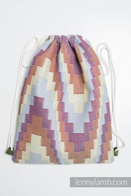 Turnbeutel, hergestellt vom gewebten Stoff (100% Baumwolle) - TRIO - Standard Größe 32cmx43cm