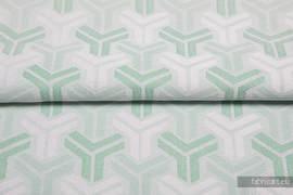 TRINITY MINT, fabric quarters, jacquard, size 50cm x 70cm