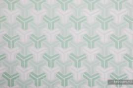 TRINITY MINT, fabric quarters, jacquard, size 50cm x 70cm - OUTLET
