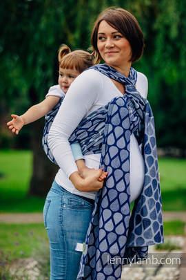 Baby Wrap, Jacquard Weave (100% cotton) - JOYFUL TIME TOGETHER - size XS