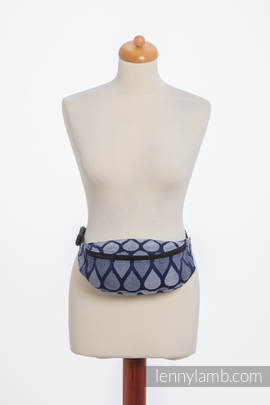 Waist Bag made of woven fabric, (100% cotton) - JOYFUL TIME TOGETHER