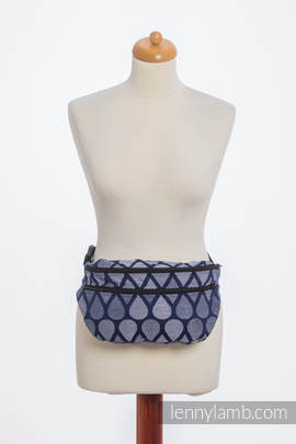 Waist Bag made of woven fabric, size large (100% cotton) - JOYFUL TIME TOGETHER