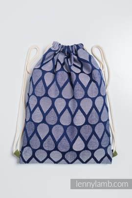 Turnbeutel, hergestellt vom gewebten Stoff (100% Baumwolle) - JOYFUL TIME TOGETHER - Standard Größe 32cmx43cm