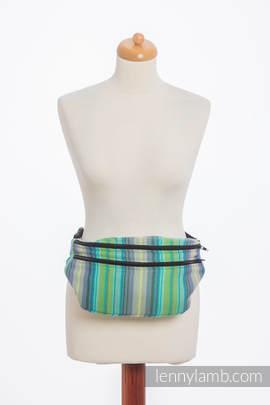 Waist Bag made of woven fabric, size large (100% cotton) - LITTLE HERRINGBONE AMAZONIA