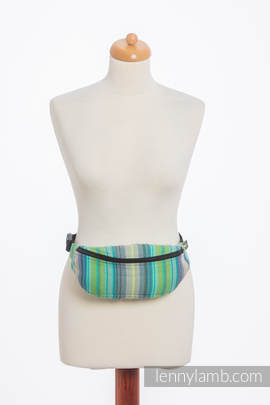 Waist Bag made of woven fabric, (100% cotton) - LITTLE HERRINGBONE AMAZONIA
