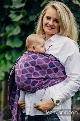 RingSling, Jacquardwebung (100% Baumwolle) - JOYFUL TIME WITH YOU