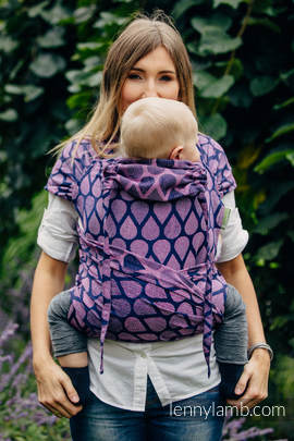 WRAP-TAI carrier Toddler with hood/ jacquard twill / 100% cotton / JOYFUL TIME WITH YOU