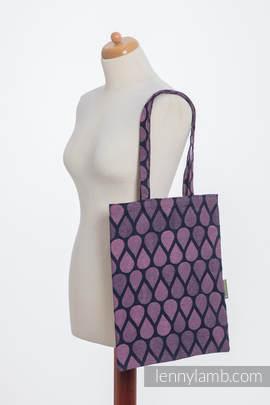 Einkaufstasche, hergestellt aus gewebtem Stoff (100% Baumwolle) - JOYFUL TIME WITH YOU