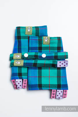 Schultergurtschoner, Set, (100% Baumwolle) - COUNTRYSIDE PLAID