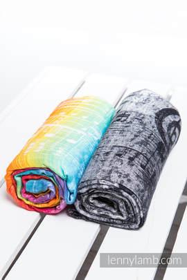 Swaddle Wrap Set - SYMPHONY RAINBOW LIGHT, SYMPHONY BLACK & WHITE