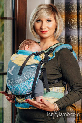 LennyUp Carrier, Standard Size, jacquard weave 100% cotton - wrap conversion from WANDER (grade B)