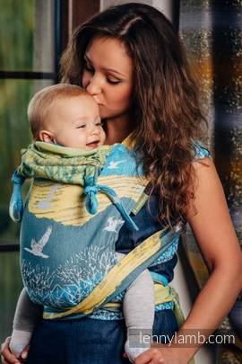 WRAP-TAI Tragehilfe Toddler mit Kapuze/ Jacquardwebung / 100% Baumwolle / WANDER