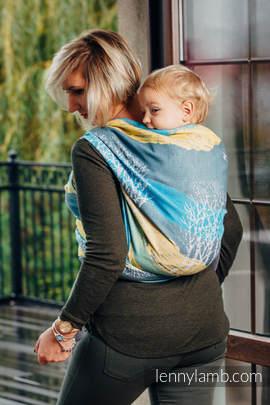 Baby Wrap, Jacquard Weave (100% cotton) - WANDER - size L (grade B)