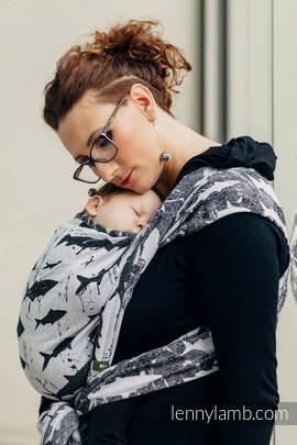 Baby Wrap, Jacquard Weave (100% cotton) - FISH'KA  - size S