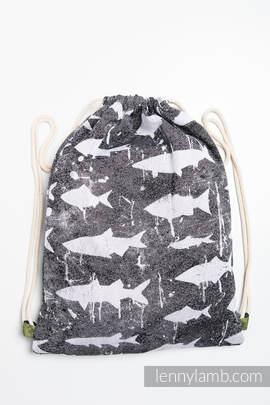 Plecak/worek - 100% bawełna - FISH'KA - uniwersalny rozmiar 32cmx43cm