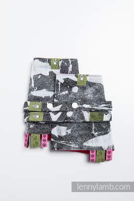 Drool Pads & Reach Straps Set, (100% cotton) - FISH'KA