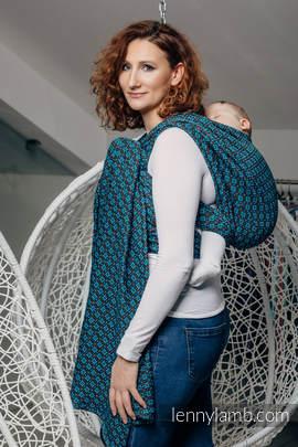 Baby Wrap, Jacquard Weave (100% cotton) - CAMELOT  - size XL