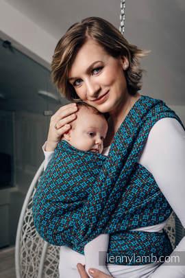 Baby Wrap, Jacquard Weave (100% cotton) - CAMELOT  - size L (grade B)