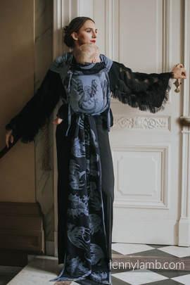 WRAP-TAI carrier Toddler with hood/ jacquard twill / 74% cotton 26% silk / MOON DRAGON