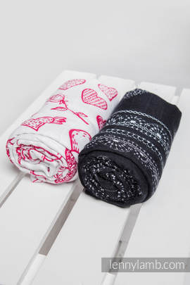 Swaddle Wrap Set - SWEET NOTHINGS, GLAMOROUS LACE