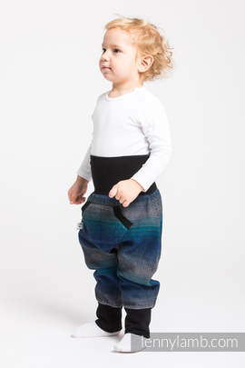 LennyBaggy - size 62 - Little Herringbone Illusion & Black
