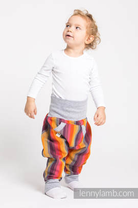 LennyBaggy - size 68 - Rainbow Red Cotton & Grey