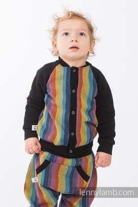 Children sweatshirt LennyBomber - size 68 - Paradiso Cotton