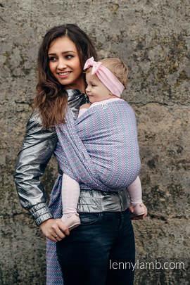 Żakardowa chusta do noszenia dzieci, bawełna - 100% bawełna - YUCCA - CHILLOUT - rozmiar L