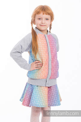 LennyBomber - size 104 - Big Love - Rainbow & Grey