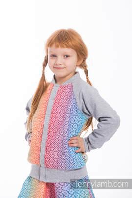 LennyBomber - size 146 - Big Love - Rainbow & Grey