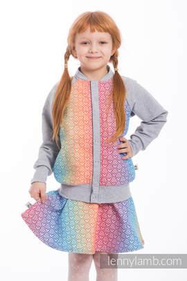 LennyBomber - size 152 - Big Love - Rainbow & Grey