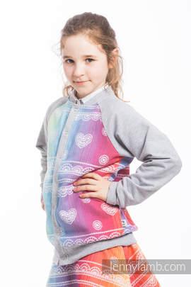LennyBomber - size 158 - Rainbow Lace & Grey