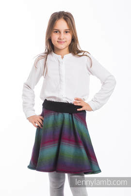 LennySkirt - size 152 - Little Herringbone Impression Dark