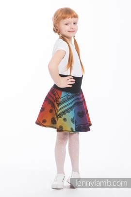 LennySkirt - Größe 134 - Rainbow Lace Dark