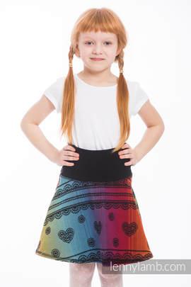 LennySkirt - size 146 - Rainbow Lace Dark