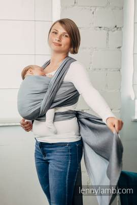 Basic Line Baby Sling - HOWLITE, Broken Twill Weave, 100% cotton, size L